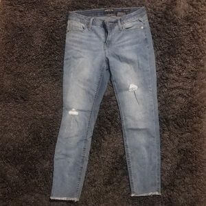 Kenneth Cole Ripped Jeans